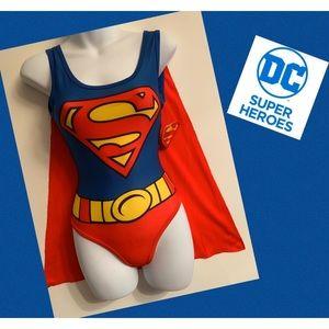Sexy Superman Leotard NWT Size XS